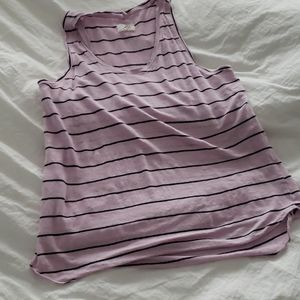 Lou and Grey pink striped tank